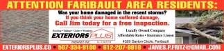 Call Jim today for a free inspection