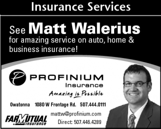 See Matt Walerius