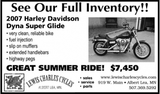 See Our Full Inventory!!