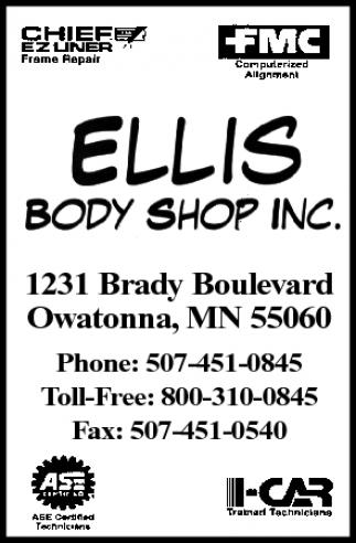 Ellis Body Shop Inc