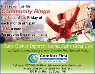 Community Bingo