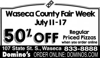 Waseca County Fair Week