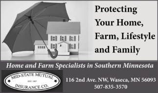 Home and Farm Specialists in Southern Minnesota