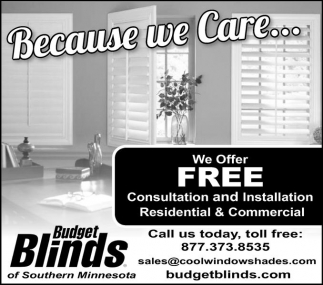 We Offer FREE Consultation and Installation Residential and Comeercial