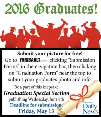 2016 Graduates!
