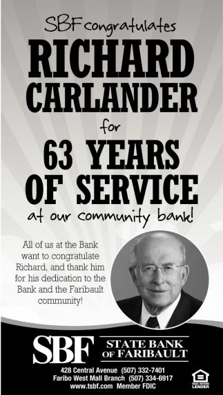 RICHARD CARLANDER