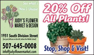 20% OFF All Plants!