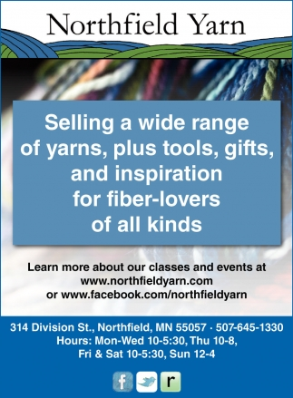 Selling a wide range of yarns, plus tools, gifts, and inspiration for fiber-lovers of all kinds