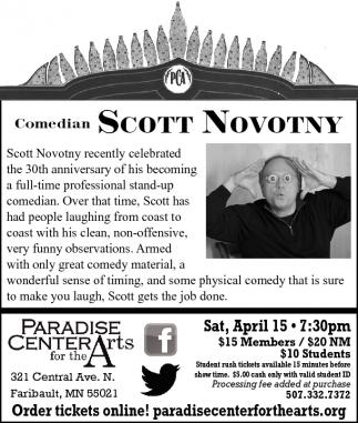 Comedian Scott Novotny