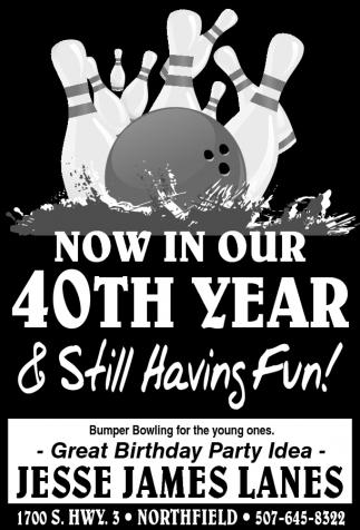 40th YEAR