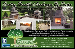 Ads For Peters Patio and Landscape Inc in Southern Minn