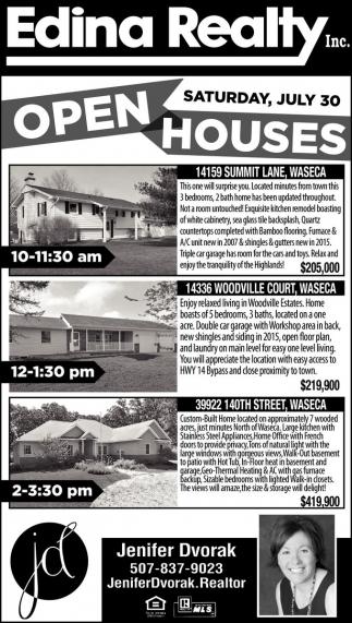 Open Houses in Waseca