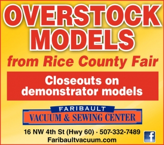 OVERSTOCK MODELS