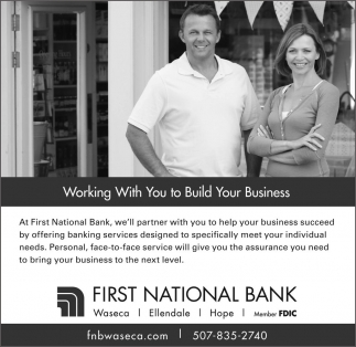 Working With You to Build Your Business