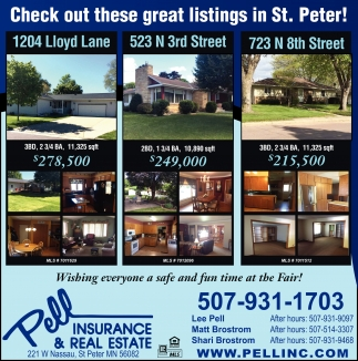 Check out these great listings in St. Peter!