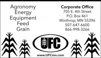 Agronomy Energy Equipment Feed Grain