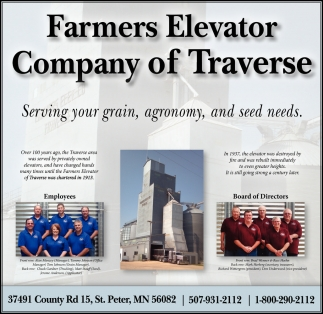 Serving your grain, agronomy, and seed needs