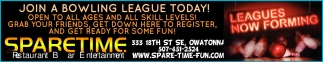 JOIN A BOWLING LEAGUE TODAY!