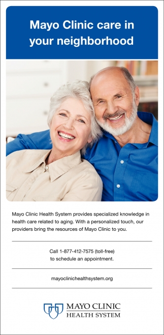mayo clinic health system org