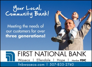 Your Local, Community Bank!