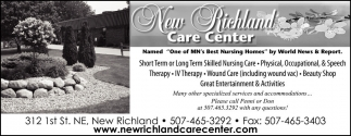 One of MN's Best Nursing Homes