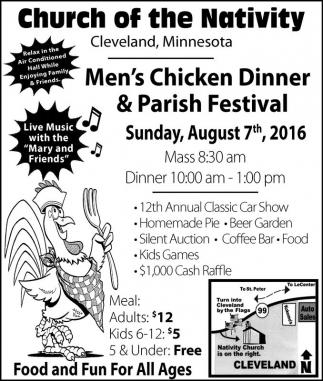 Men's Chicken Dinner and Parish Festival