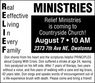 Relief Ministries