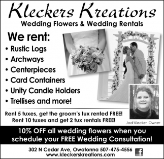 Wedding Flowers and Wedding Rentals