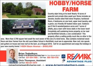 HOBBY/HORSE FARM