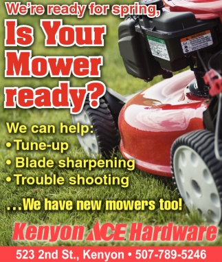 Is Your Mower Ready?