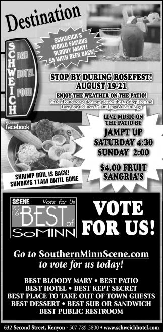 Vote for Us SCENE 2016 Best of SoMinn