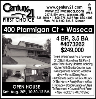 400 Ptarmigan Ct - Waseca