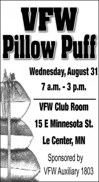 VFW Pillow Puff