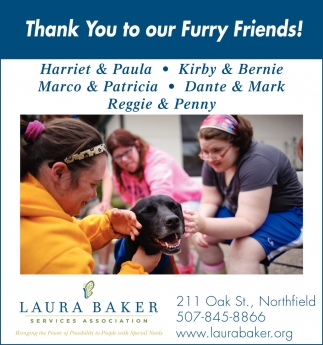 Thank You to our Furry Friends!