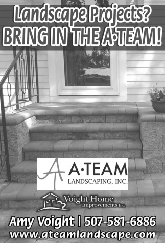 Landscape Projects? BRING IN THE A TEAM!