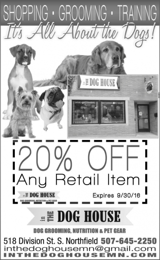 20% OFF Any Retail Item