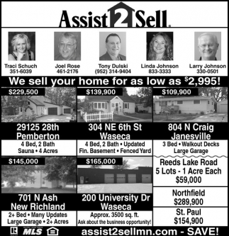 We'll sell your home for as low as $2,995!