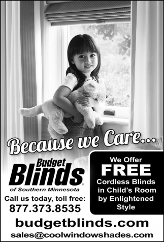 FREE CORDLESS BLINDS IN CHILD'S ROOM BY ENLIGHTENED STYLE