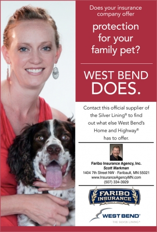protection for your family pet? West bend does