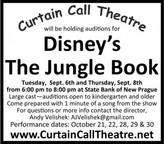 Disney's Rhe Jungle Book