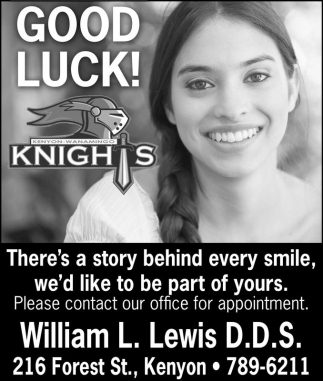 GOOD LUCK! Knights