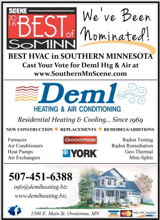 Best HVAC in Southern Minnesota