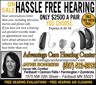 HASSLE FREE HEARING