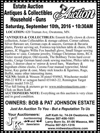 Estate Auction Antiques and Collectibles Household - Guns