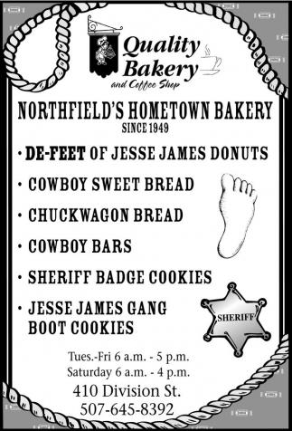 Northfield's Hometown Bakery