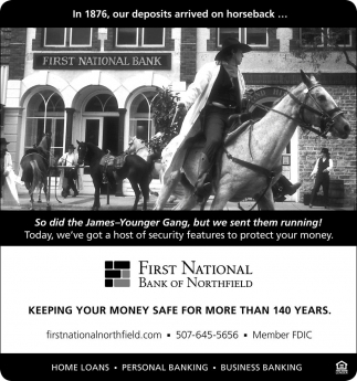 KEEPING YOUR MONEY SAFE FOR MORE THAN 140 YEARS