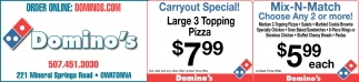 Carryout Special - Mix N Match