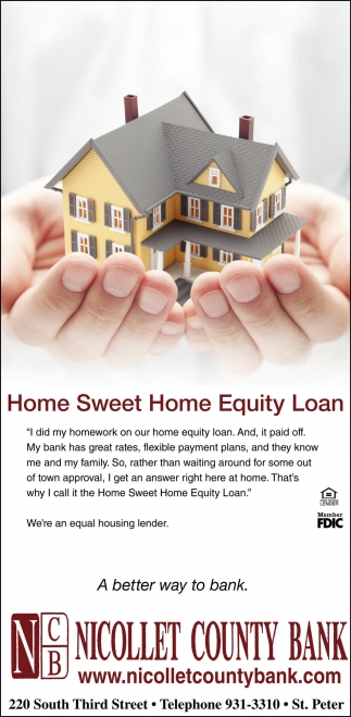 Home Sweer Home Equity Loan