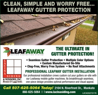 Professional Leafway Gutter Installation