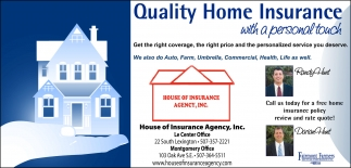 Quality Home Insurance
